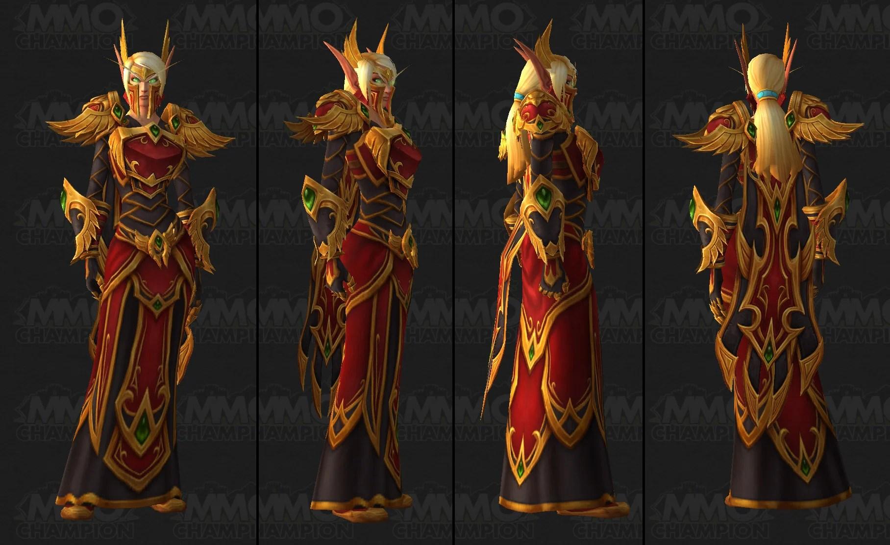 Demon Hunter Girl Armor