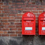 Photo of British mailboxes representative of effective email marketing