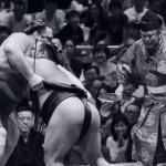 Photo of sumo wrestlers representative of a battle of WordPress Platforms