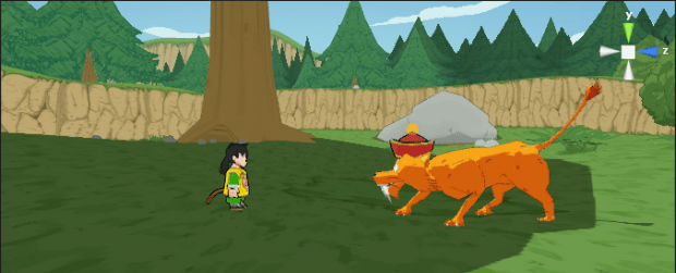 Dragon Ball Z Warrior Screenshot