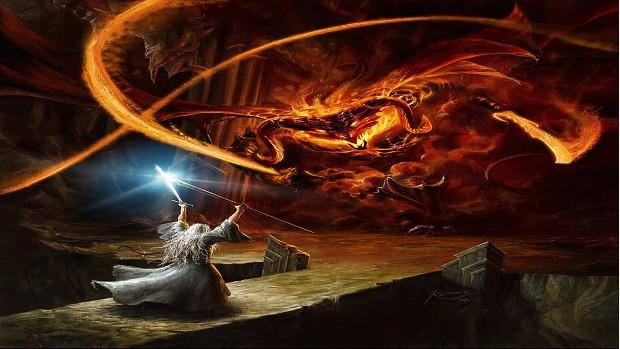 YOU SHALL NOT PASS Gandalf Wallpaper Art Image The Fellowship Mod DB
