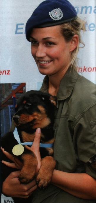 Austrian Female Military Dog Handler Image Females In Uniform Lovers Group Mod DB