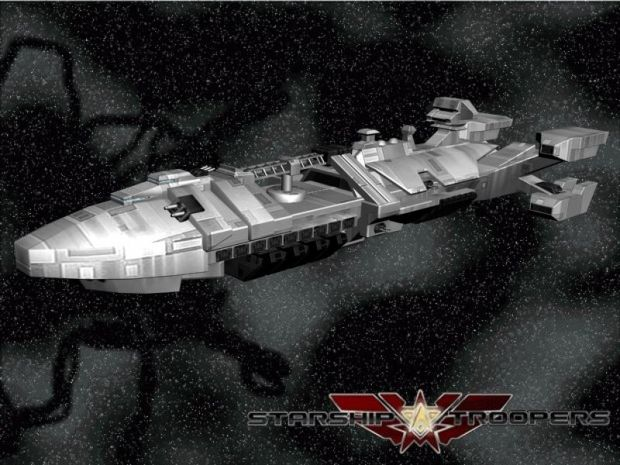 Starship Troopers Art Concept