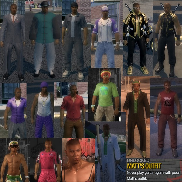 Npc Outfit Collage Image Gentlemen Of The Row Mod For