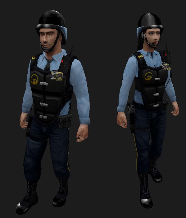 Security Guard Look