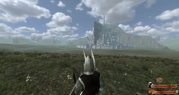 Minas Tirith by Akathir