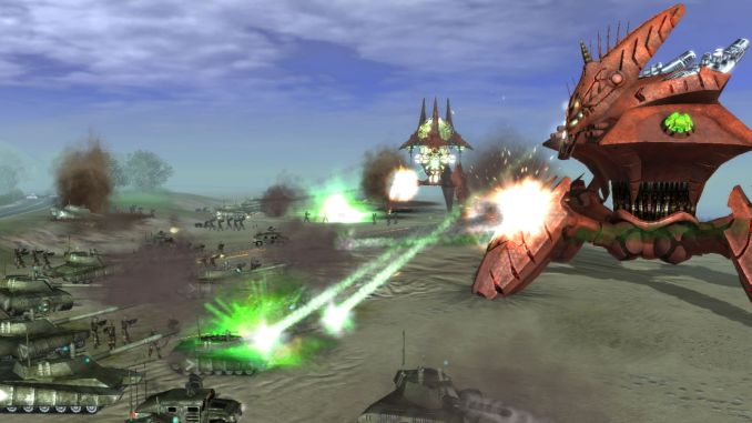 Universe at War: Earth Assault Screenshot 2