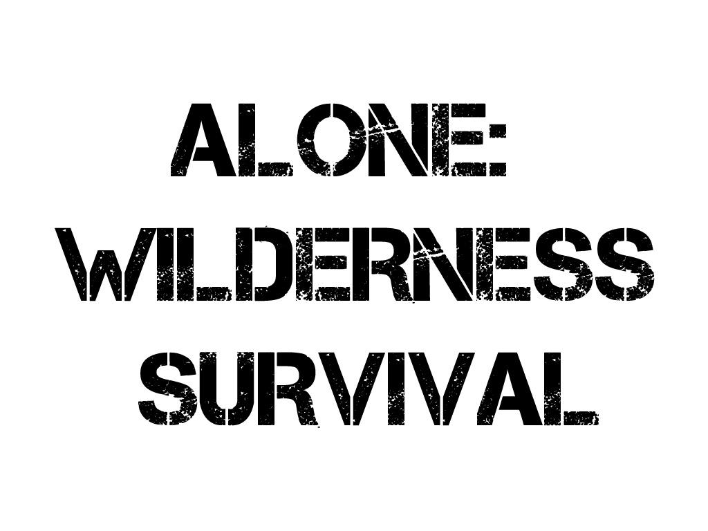 Alone Wilderness Survival Windows Mac Linux Game