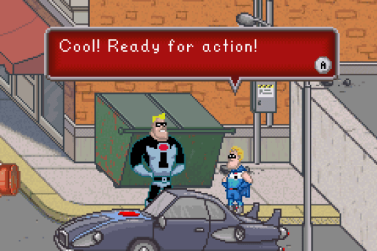 Incredibles GBA ROM #9