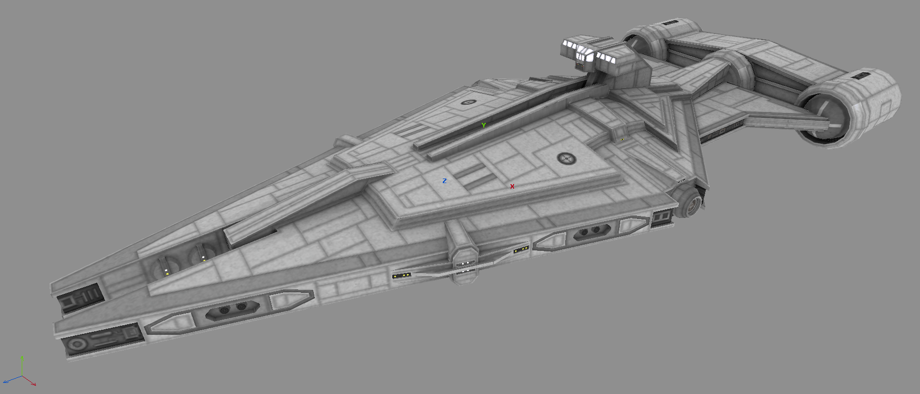 Imperial Arquitens Light Cruiser Wip Image