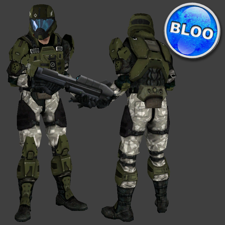 Halo 3 Marine Pilot Image BlooCobalt Mod DB