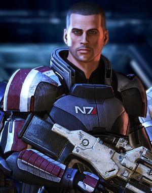 Image result for mass effect commander shepard male
