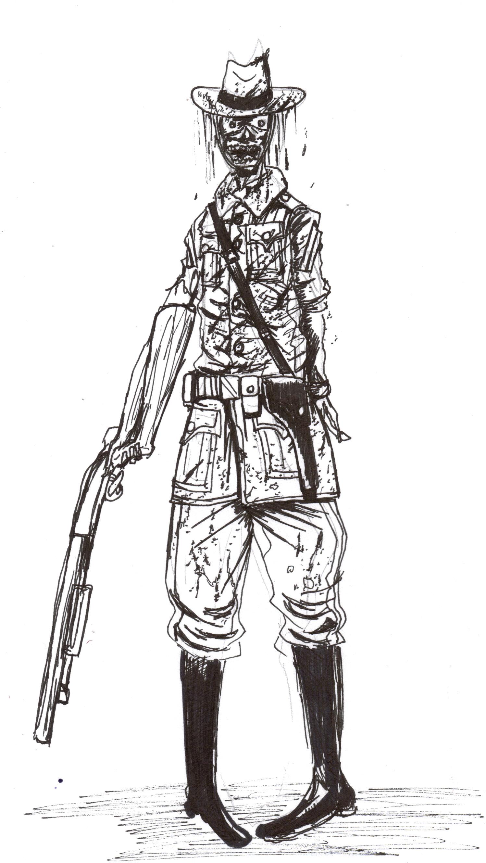 Canada Ranger Zombie Concept Image