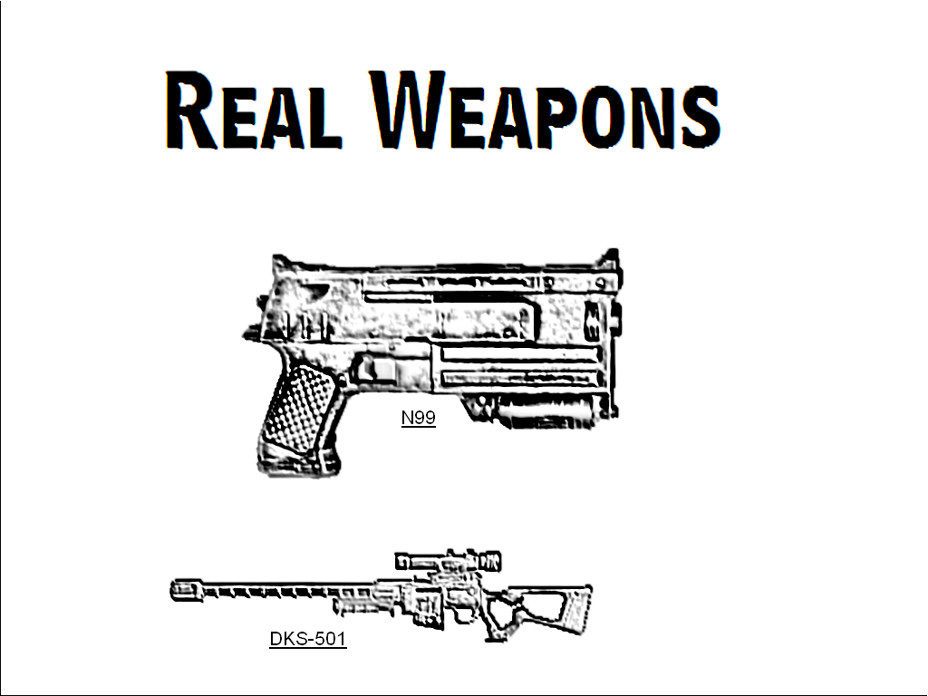 Real Weapons Mod For Fallout 3