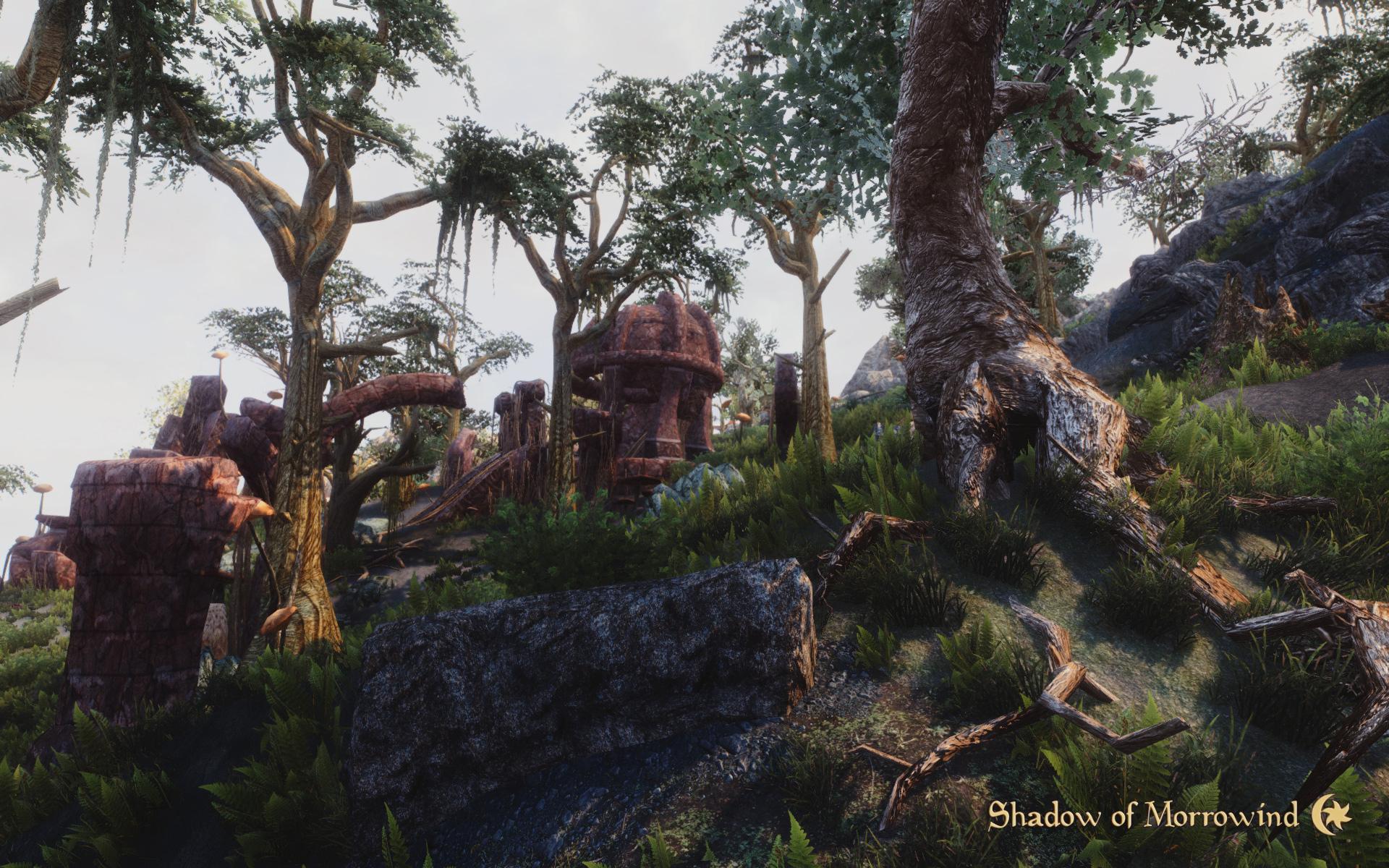 Daedric Ruin Image Shadow Of Morrowind Mod For Elder Scrolls V Skyrim Mod DB