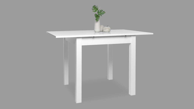 Esstisch Coburg Tisch Kuchentisch In Wei Ausziehbar 80