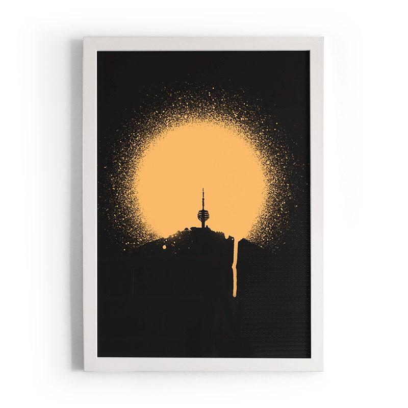 Sarajevo Sunset Molimao - Art Print