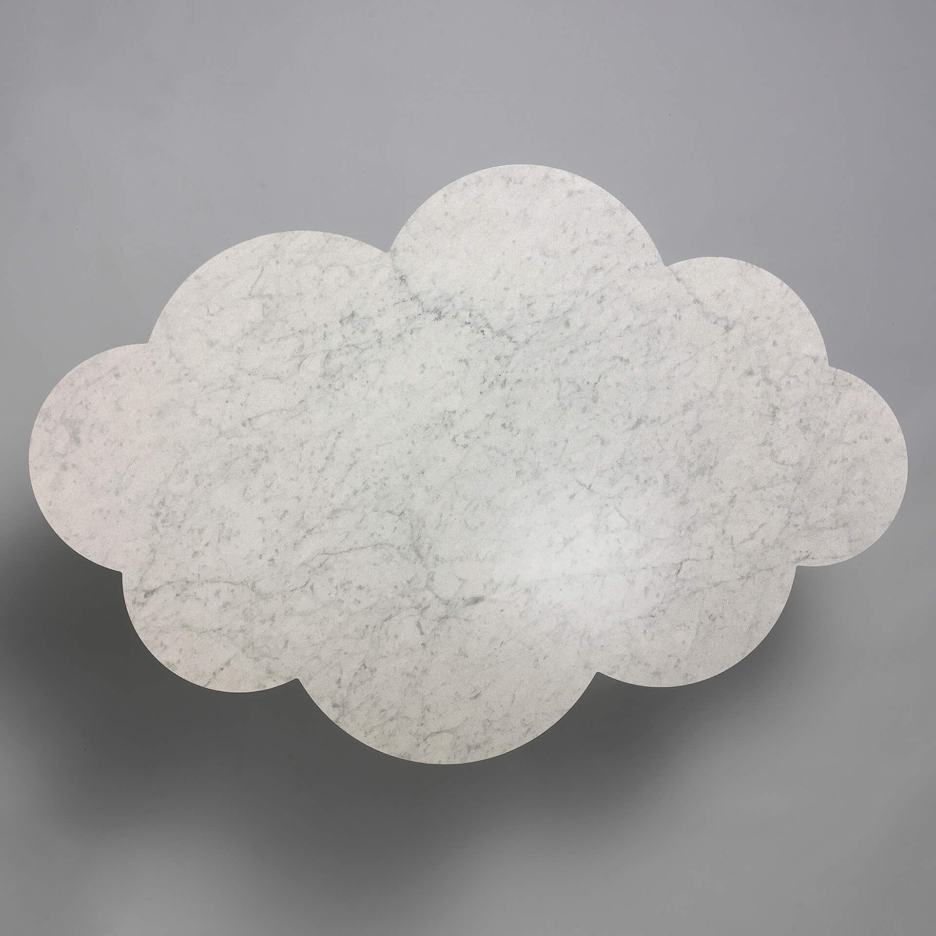 The Cloud Table – coffee table – carrera marble top – Molnbordet