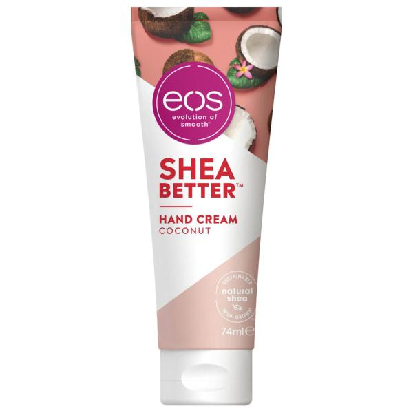 "Presentpåse: eos handcreme Shea better ""Coconut"" 74 ml"