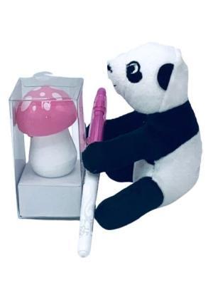 Presentpåse - panda och penna