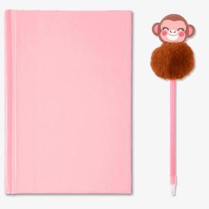 Anteckningsbok och matchande penna