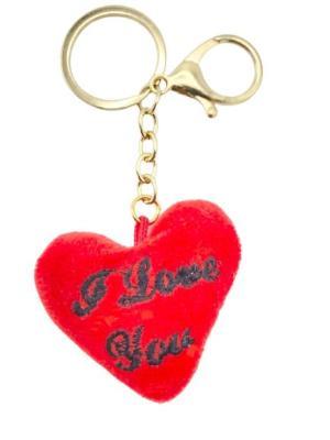 """Nyckelring hjärta """"I love you"""""""