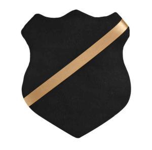 Märkessköld svart / guld