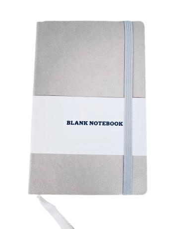 Adlibris notebook sand läderimitation 96 sidor