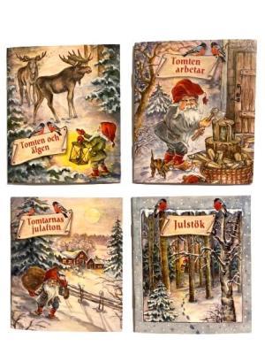 4 st små julböcker