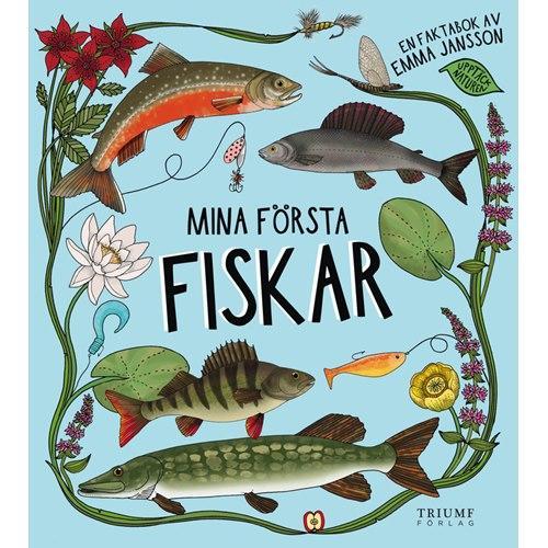 """Bok """"Mina första fiskar"""" inbunden"""