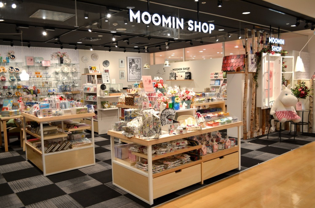 Moomin Shops Moomin Products
