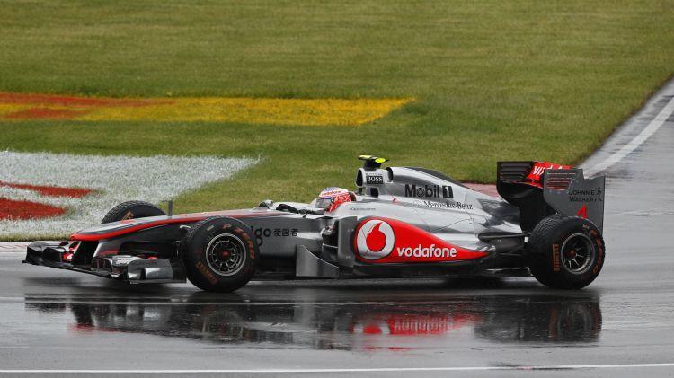 F1 su YouTube: GP Canada 2011, Button mago sul bagnato