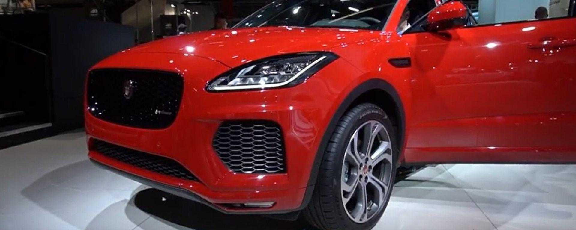 Jaguar E Pace 2018 Dimensioni Motori Prezzo Interni