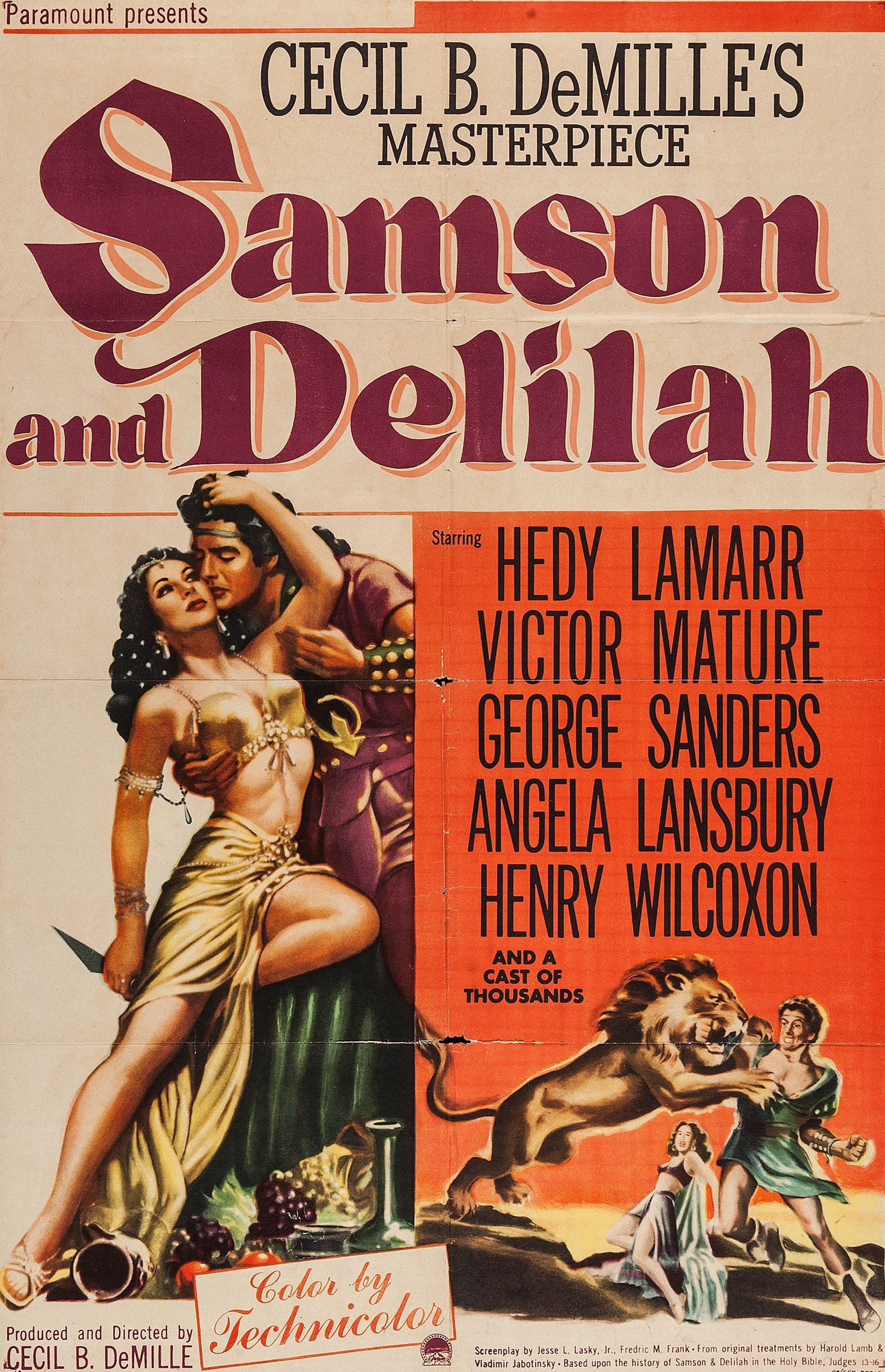 Watch Samson And Delilah Free Online