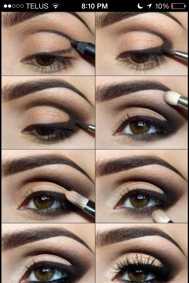 Step By Step Cat Eye Makeup Musely