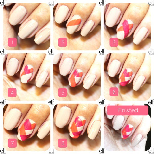 8 Easy Summer Nail Art Tutorials