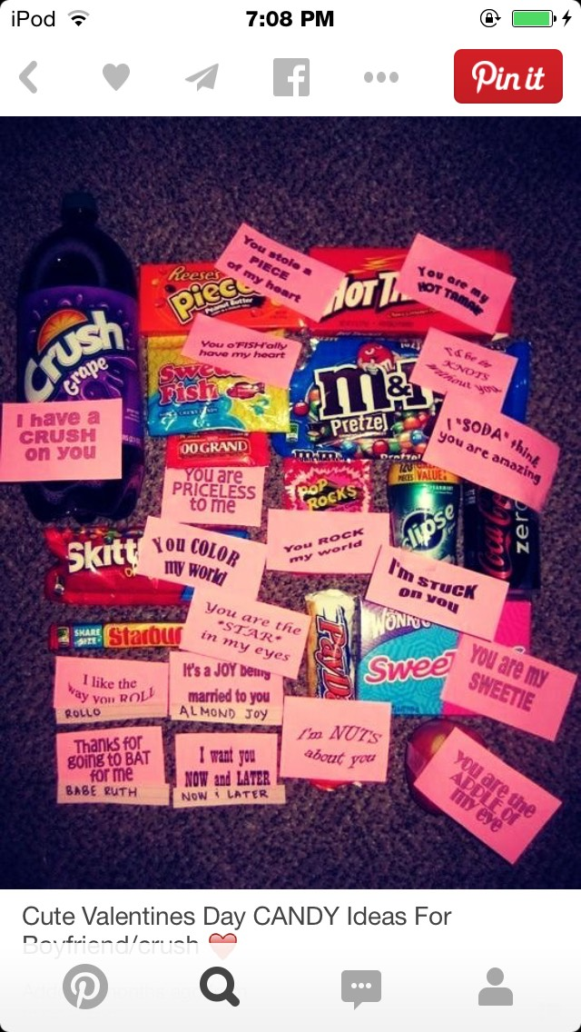 Sweet Amp Punny Candy Love Notes By Kayla Musely