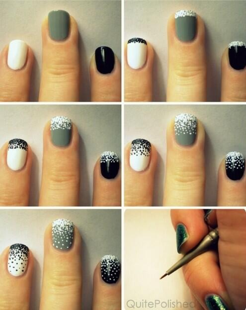 8 Simple Nail Tutorials For Christmas Party Top New Winter Manicure Trend Design