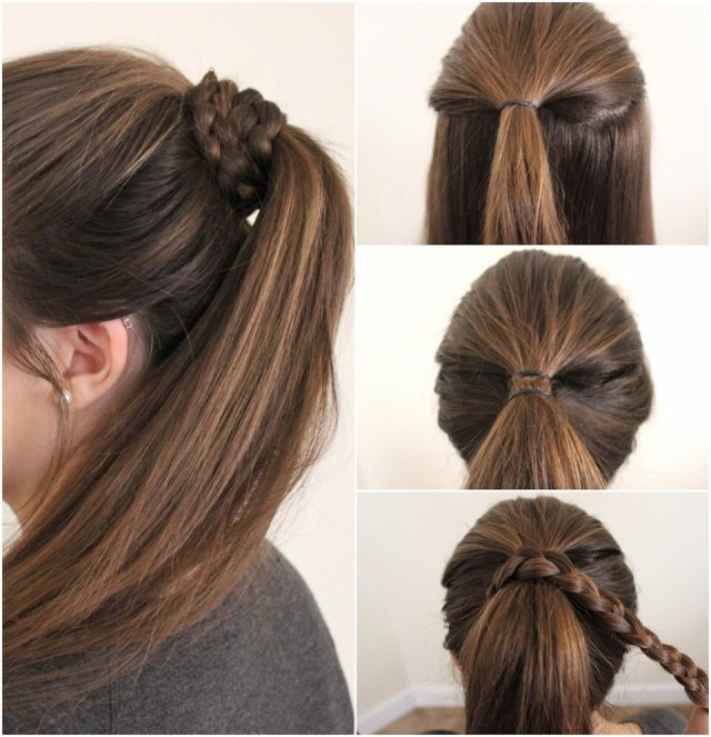 easy everyday hairstyles. 😘 by mahwash ahmed♌️ - musely