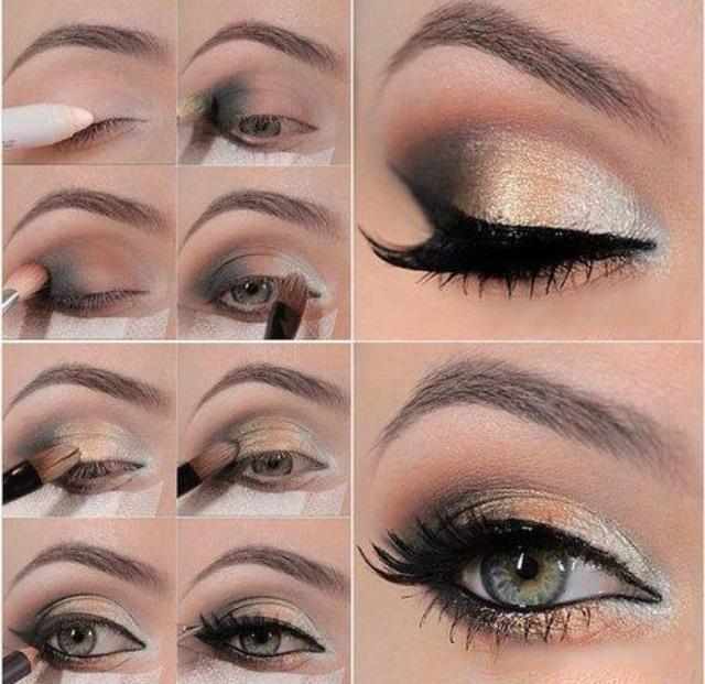 Eye Makeup Pictorial By Rida Khalid