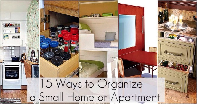 15 Ways To Organize A Small Home Or Apartment By Blossom