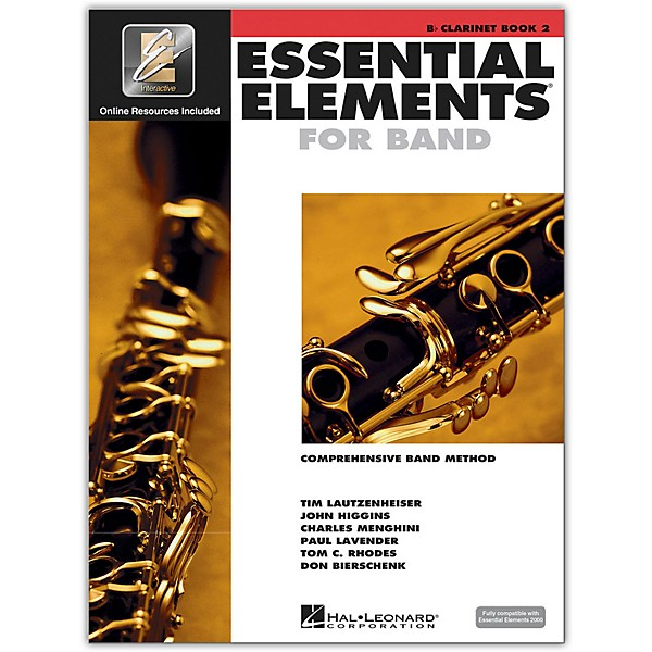 Hal Leonard Essential Elements for Band - Bb Clarinet 2 Book/Online Audio    Music & Arts