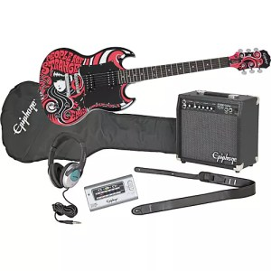 Epiphone Emily the Strange SG Electric Guitar and All