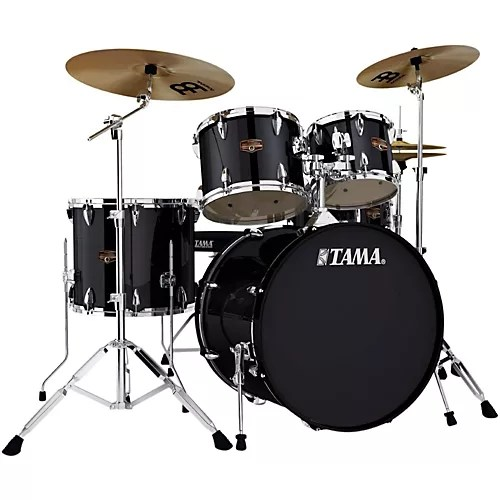 TAMA Imperialstar 5 Piece Drum Set with Cymbals   Musician s Friend TAMA Imperialstar 5 Piece Drum Set with Cymbals