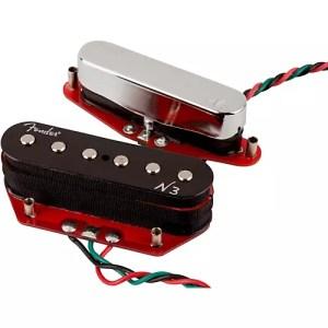 Fender N3 Noiseless Telecaster Pickups Set of 2 | Musician