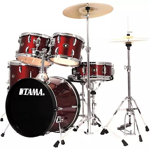 TAMA Stagestar 5 piece Drum Set with Cymbals   Musician s Friend TAMA Stagestar 5 piece Drum Set with Cymbals