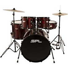 Complete Drum Sets   Musician s Friend Sound Percussion Labs Unity 5 Piece Drum Set with Hardware  Cymbals and  Throne