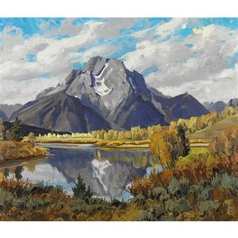 Artworks Of Conrad Schwiering American 1916 1986