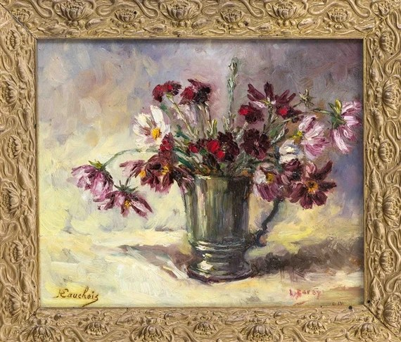 Ganseblumchen Blumen Malerei Kostenloses Stock Bild Public