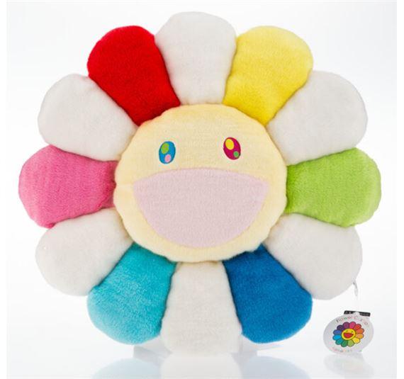 murakami takashi flower cushion
